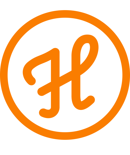 The Heyride logo.